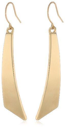 Asesoría de imagen ejecutiva - Kenneth Cole New York Shiny Gold-Tone Geometric earrings - Kenneth Cole New York - Amazon.com