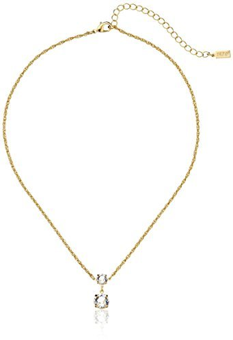 "Outfit casual - Asesoría de imagen ejecutiva - 1928 Jewelry 14k Gold-Dipped Swarovski Crystal Drop Necklace, 18"" - Swarovski - Amazon.com"
