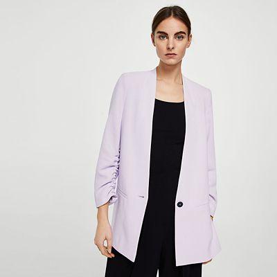 Outfit para oficina - Asesoría de imagen ejecutiva - Blazer - MANGO - Saga Falabella