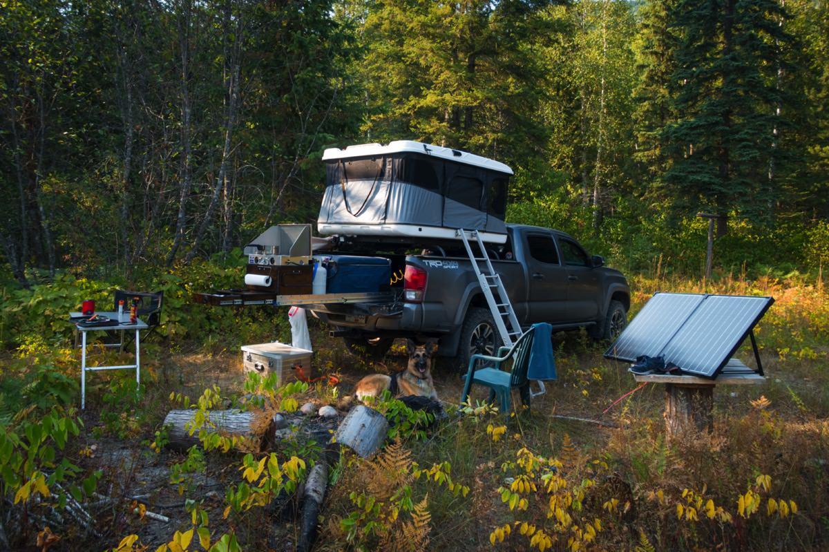 Ground Tent vs. RTT 003