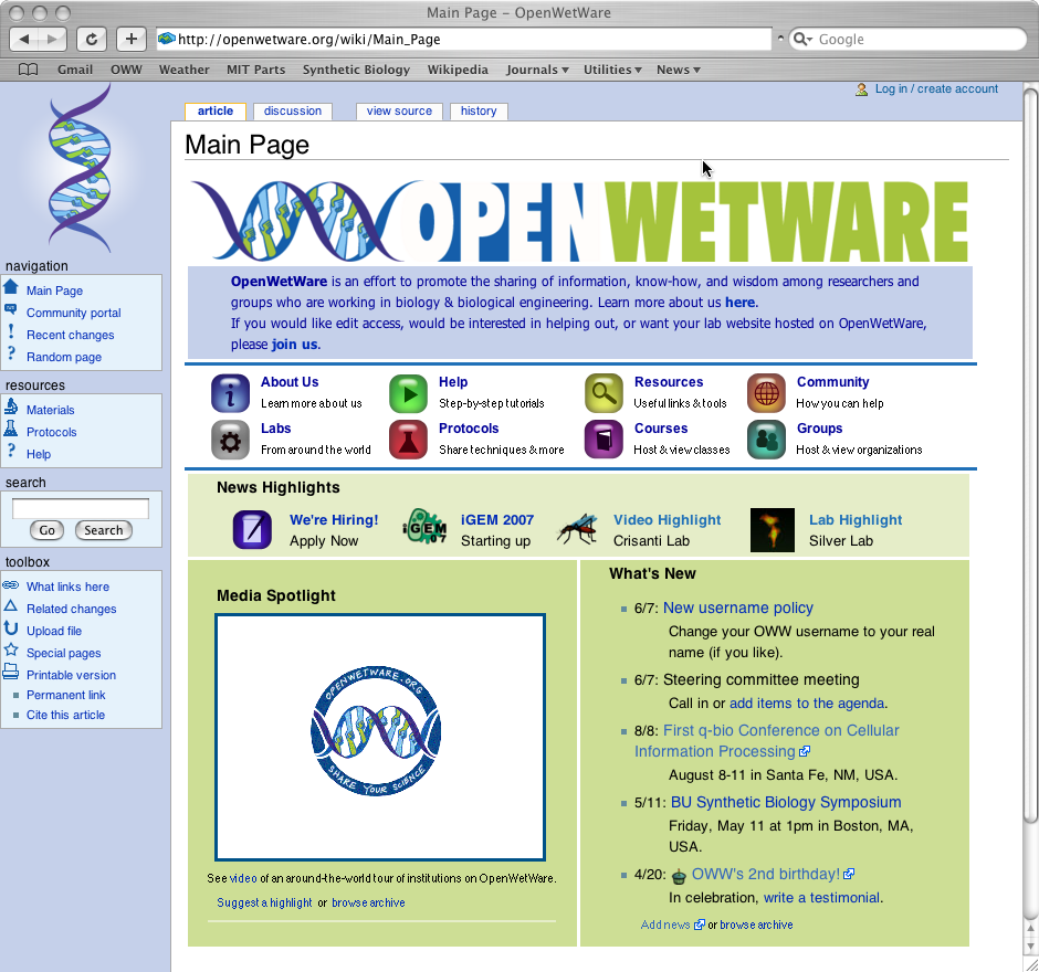 Image:Openwetwarehomepage.png