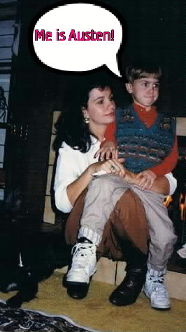 This is my me and my mum in my earlier days
