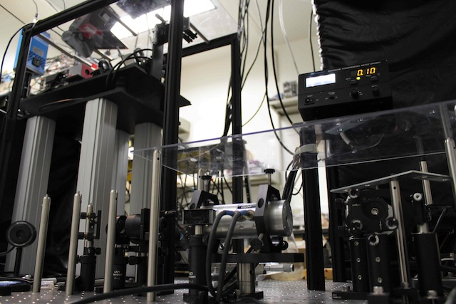 Photo of optics for high-speed two-photon microscope