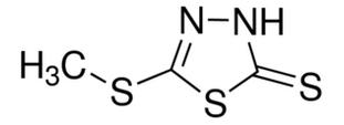 File:5-(methylthio)-1,3,4-thiadiazole-2-thiol Screen Shot 2015-09-22 at 9.35.28 AM.png