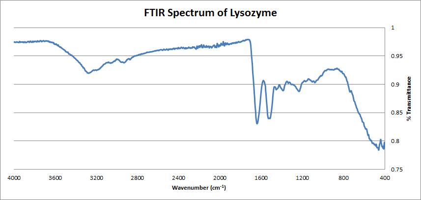FTIR of Lysozyme.png