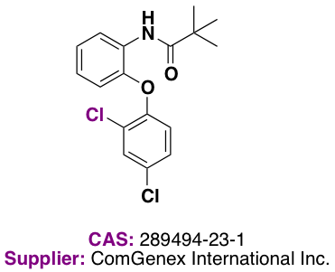 Scheme 2: ComGenex Compound