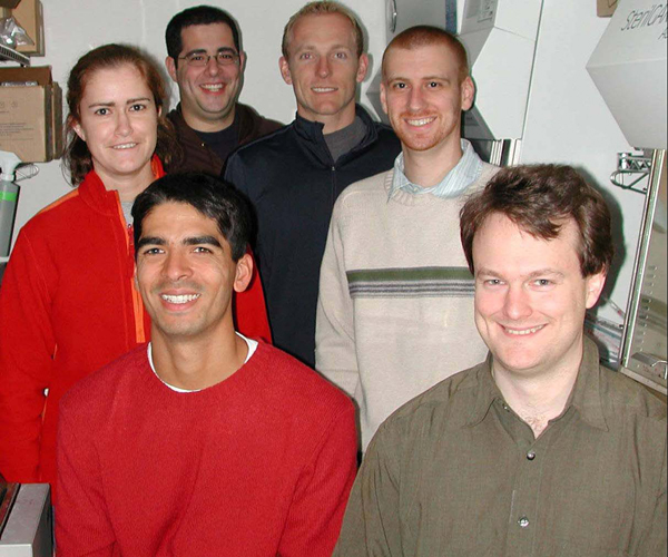 From Left: Katie Lovejoy, Ryan Todd, Evan Guggenheim, Matthew Wallace, Rodney Feazell, Mattias Ober