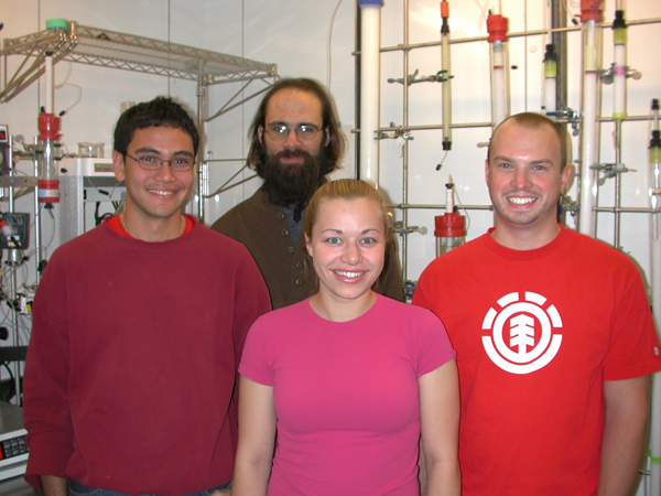 From Left: Leslie Murray, Eric Dill, Christy Tinberg, Mike McCormick