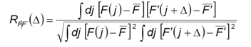Here is the equation I used. It came out of Shundrovsky 2006 mentioned above. It was in the supplemental part.