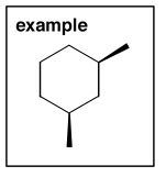 Scheme 3: Example Substituted Cycloalkane to Name