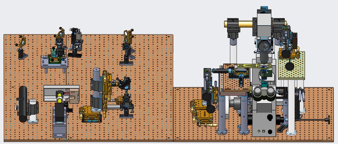 Optical Tweezers model in Solidworks