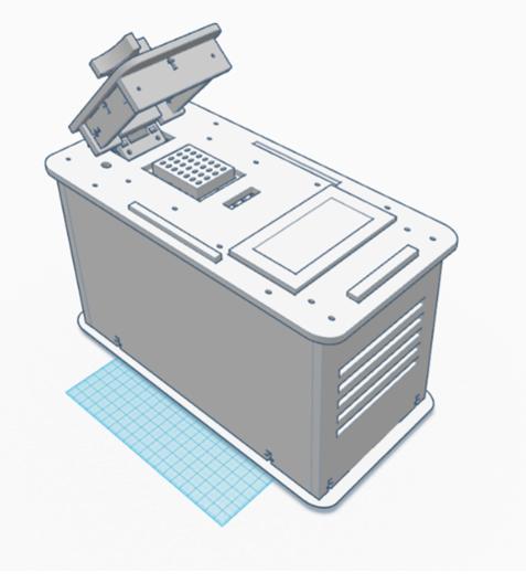 TinkerCAD PCR Design.