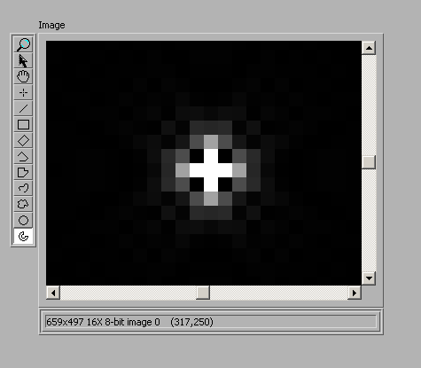 File:Airy Disc with 2.71pixel-1 smear.png