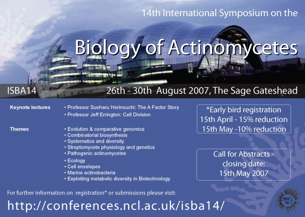 Biology of Actinomycetes - Symposium