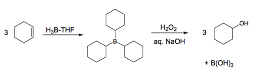 Scheme 4: Simple Example of Hydroboration