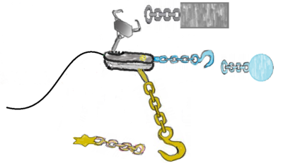 This image indicates DNAaptamer can attach to Porter.