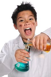 Our very own mad scientist!