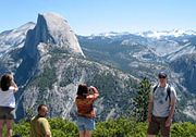 Trekking in Yosemite