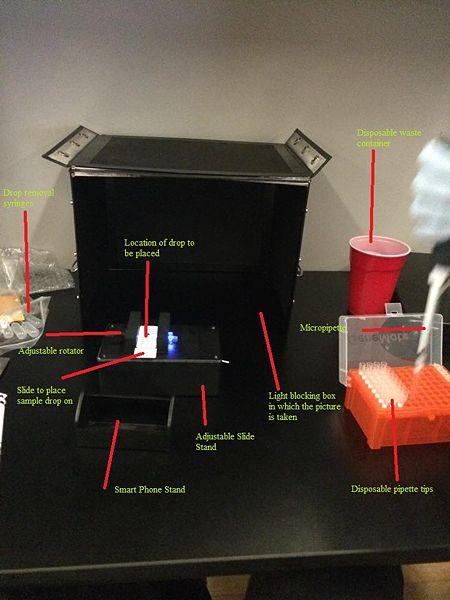 File:Fluorimeter set up with labels.jpg