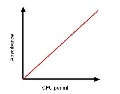 Example of Absorbance Calibration Curve