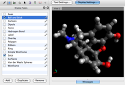 Avogadro screenshot