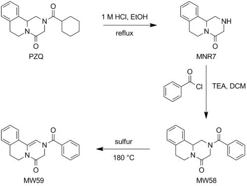 Synthesis of Benzoyl Enamide