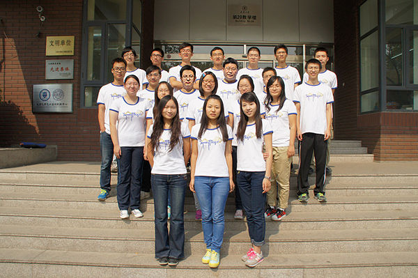 Welcome to meet the 2012 Tianjin BIOMOD team!