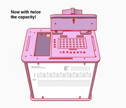 OpenerPCR Deluxe now with twice the capacity!