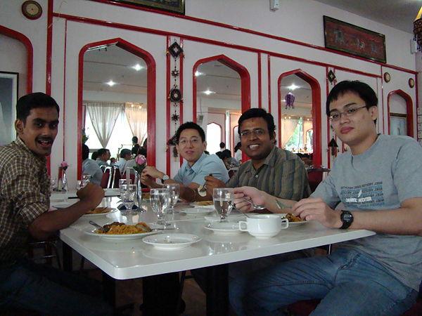 (L to R) Srinath, Dr.Rudi, Suresh & Kok Siong