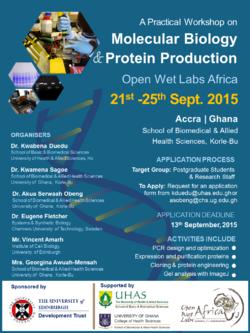 Poster for workshop