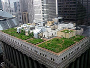 Example of a Green Roof, Chicago City Hall