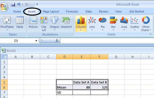 how to add chart title in excel 2007