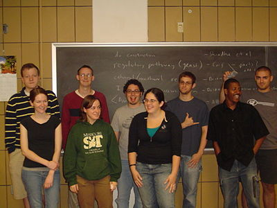 The 2008 iGEM team