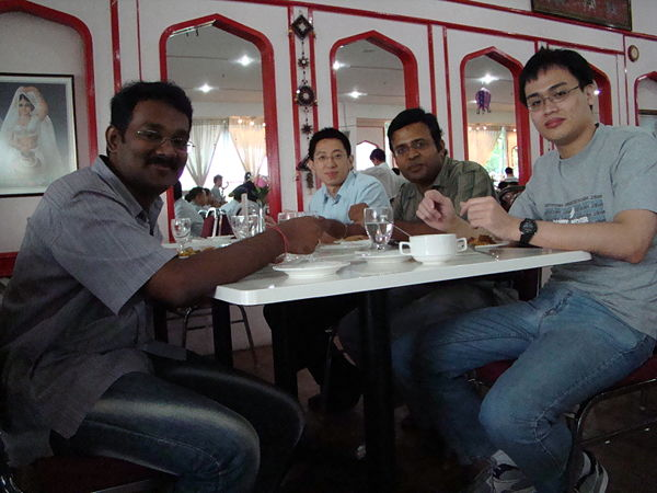 (L to R) Thanneer, Dr.Rudi, Suresh & Kok Siong