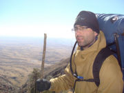 Kevin at Guadalupe Mountains National Park
