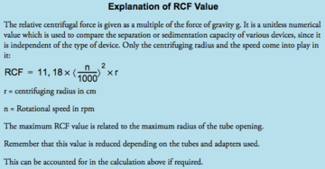 RCF explanation