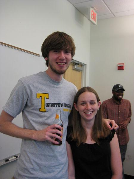 File:Kevin and Mindi at Graduation party.jpg