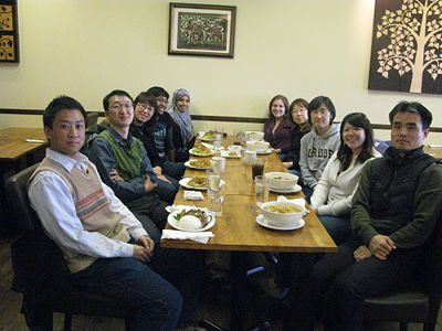 March 2012 (From the left: Bo, Kevin, Hannah, Hillary, Sara, Emily, Eun Jung, Yoon, Karen, and Harrison)