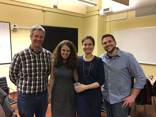 Tim, Beyza and Kristen all successfully defended their dissertations in December 2016