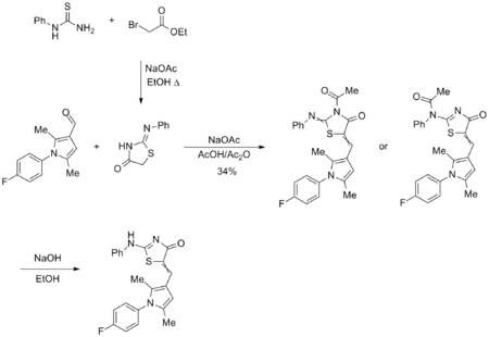 Initial synthesis of near neighbours