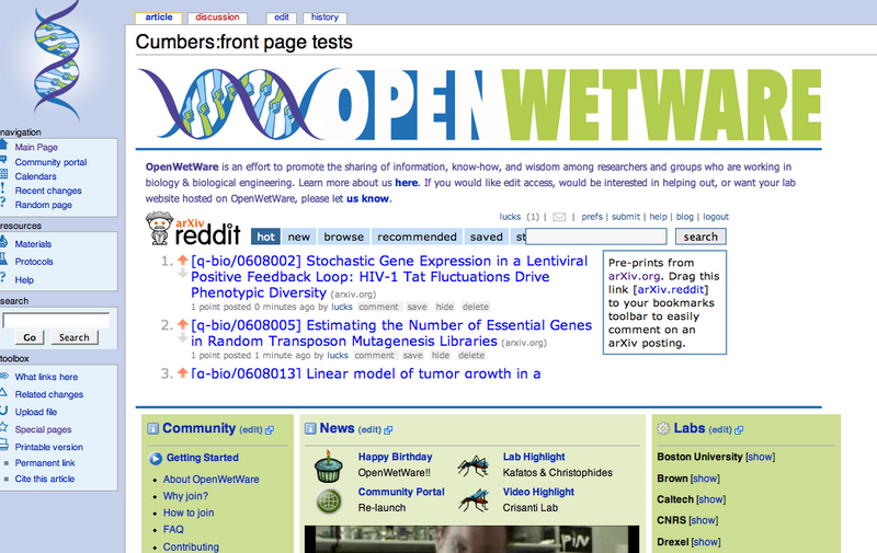 Image:Publishing group openwetware reddit screenshot.png