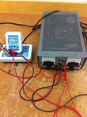 Power Supply Used for Accelerating Voltage and Picoamplifier