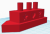 Boat made with TinkerCAD
