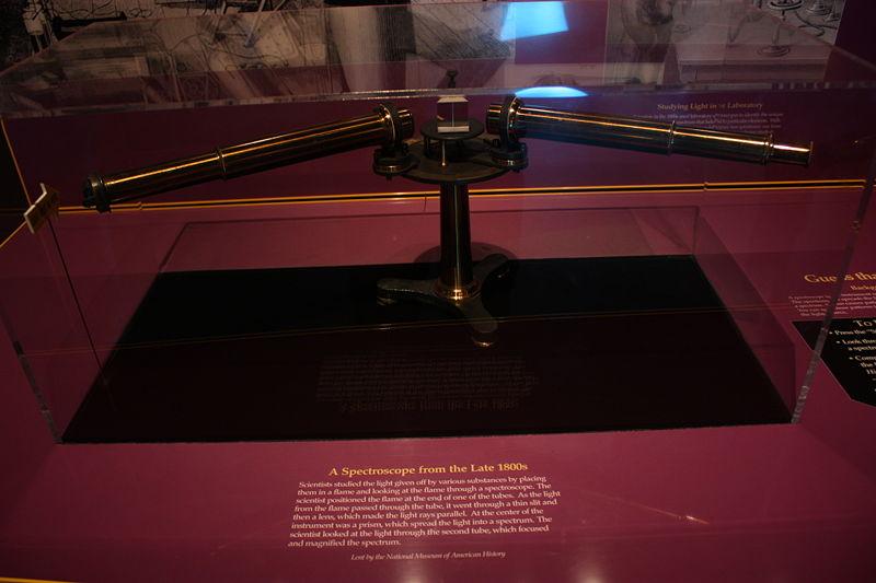 File:Spectrometer at Smithsonian.jpg