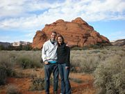 John and Allison in St. George