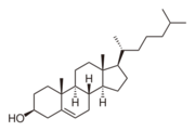 Figure 1 Structure of Cholesterol [[1]]