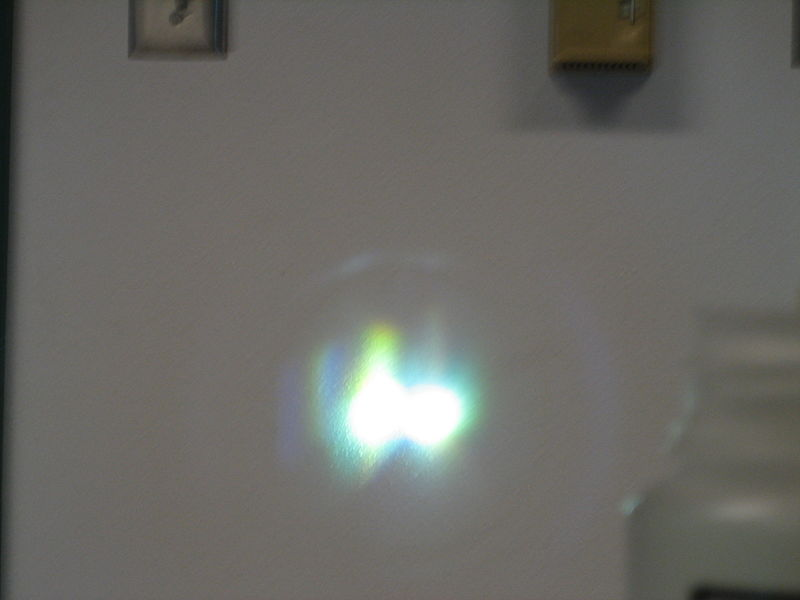 Image:HgBulb Reflection and bulb.JPG