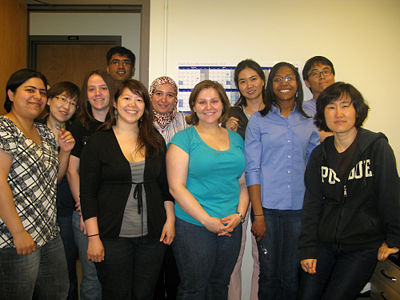 May 2011 (From the left: Zohreh, Eun Jung, Erin, Gaurav, Karen, Basma, Emily, Sooyoung, Hillary, Joonyoung, Yoon)