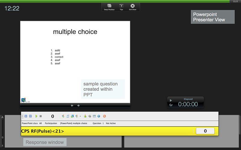 File:Clicker Response in PPT Presenter View.jpg