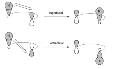 Scheme 12: The Terms Suprafacial and Antarafacial Applied to Sigmatropic Rearrangements